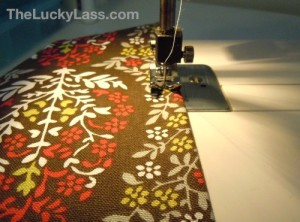 Sew with Fabric Edge at Edge