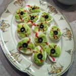 Deviled Egg Monster Eyeballs