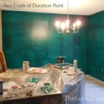 Two Coats of Duration Paint